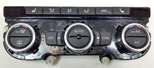 NEW GENUINE VW CC EOS PASSAT TIGUAN TOURAN AIR CON HEATER DISPLAY CONTROL PANEL