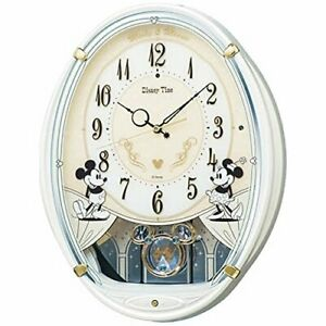 SEIKO CLOCK Mickey Mouse clock 6 songs Mickey Mouse Minnie Mouse