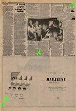 Magazine Buzzcocks About The Weather Advert NME Cutting 1981