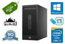 Fast Cheap HP G2 Fortnite Gaming Core i3-6100 3.7Ghz HDMI 500Gb 8GB Computer PC