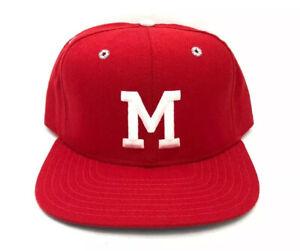 vintage new era pro model miami university fitted hat size 7 1/2 deadstock NWOT
