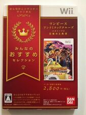 WII Import New One Piece Unlimited Cruise Episode 2 1st Ver Japan Region