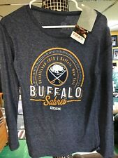 CCM Buffalo Sabres womens long sleeved shirt.  Brand New! size Small