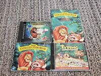 Lot of 3 Disney Lion King CD-Rom PC Games with manuals - Windows 95