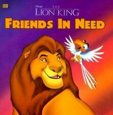 Disney's the Lion King: Friends in Need (Golden Books)