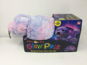 Pillow Pets Shimmering Seal Glow Pets