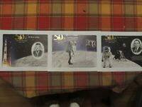 Apollo 11 50th Anniversary 2019 Engraved Prints Mission, Giant Leap, Kennedy!!!