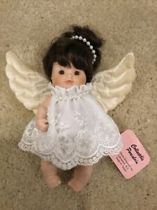"""Show Stoppers Collectible Porcelain 6"""" Angel Doll"""