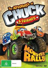 The Adventures of Chuck and Friends: Monster Rally NEW R4 DVD