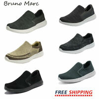 Bruno Marc Mens Slip On Loafers Casual Shoes Mesh Walking Shoes Fashion Sneakers