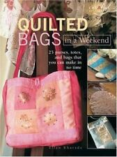 Quilted Bags in a Weekend, by Ellen Kharade