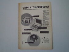 advertising Pubblicità 1957 ARVAL