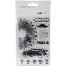 BARBER SHOPPE - Clear Stamp Set - Kaisercraft