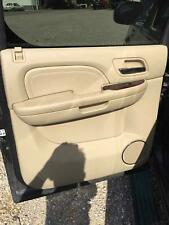 2010-14 2011 CADILLAC ESCALADE ESV DRIVER REAR LEFT INSIDE DOOR PANEL CASHMERE