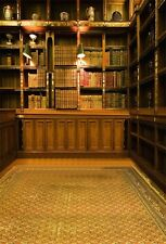 Study Bookshelf Indoor Photography Backgrounds 5x7ft Vinyl Photo Backdrops Props
