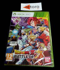 DRAGONBALL Z BATTLE OF Z Xbox 360 PAL-España Español NEW Nuevo New xbox360