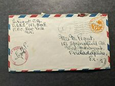 NAVY #147 Oran, Algeria, North Africa 1944 Censored WWII Naval Cover