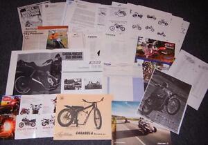 Cagiva Husqvarna Dealer pkg, Morbidelli Aprilia Beta Guzzi brochure collection D