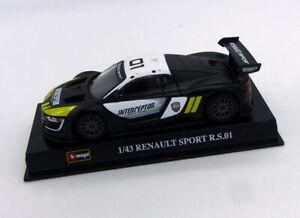Voiture de collection Renault sport RS01 Burago 1:43