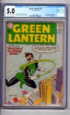 Green Lantern #22 CGC 5.0 CM/OW 'Master.of.Ring..Hector..Hammond!' Gil Kane C&A!