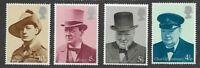 Sir Winston Churchill mnh set Great Britain-1974