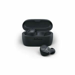 GENUINE Jabra Elite Active 75t True Wireless Earbuds Bluetooth Headset Dark Grey