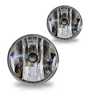 07-11 Ford Mustang Shelby GT500 Fog Lights Pair Set w/Bulbs - Clear