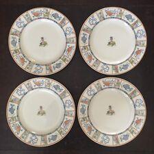 4 x Johnson Bros Fine China Plates Seaside Pattern