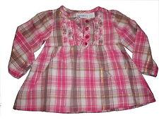 Babies R us zauberhafte Bluse Gr. 74 rosa kariert !!