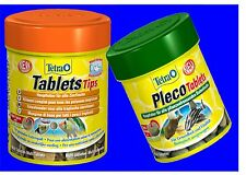 Tetra Pleco Tablets 120 Tabs And Tablet Tips 165 Tabs Combi Pack Food Tablets