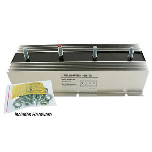 200A Split Charger for 3 Batteries, 1 Alternator