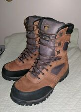 Herman Survivors waterproof thinsulate 400gr winter boots brown leather 11 xwide