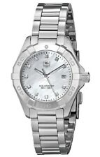 Tag Heuer Aquaracer 11 Diamonds MOP Dial Silver Women's Watch WAY1413.BA0920 SD