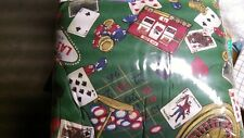 Las Vegas Gambling Themed Bed In A Bag Set  King size