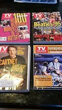 Rare Set - 14 Beatles TV Guide Cover Collection w/ 3 Lennon Assassination Covers