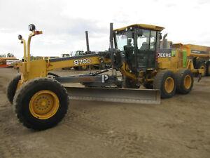 JD Deere 670D, 672D, 770D, 772D, 870D, 872D Motor Grader Operation Test TM2246