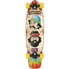New Flip Cheech and Chong Shred Sled Cruzer Complete Skateboard - 36in x 9.3in
