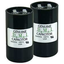 (2) Pack , Motor Start Capacitor 124 - 149 uF x 165 Vac Usa replaces 11031 11931