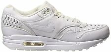 New Nike Air Max 1 Woven Men's Size 14 - White Running Shoes Sneakers