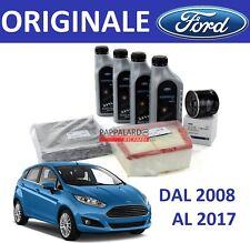 KIT TAGLIANDO FILTRI ORIGINALI + OLIO 5W30 FORD FIESTA 6 VI 1.4 GPL LPG DAL 2008
