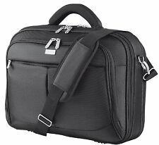 "NEW SYDNEY 16"" LUXURY PADDED NOTEBOOK LAPTOP CARRY BAG CASE BLACK"