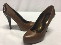 Carlos By Carlis Santana LUST Women's Pumps Shoes, Brown, Size 10 M  ...HEELS 1