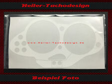 Tachoblende BMW R1100 S Carbonoptik Weiss Tacho Cluster Cover