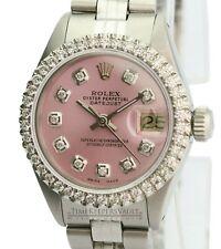 Rolex  Lady Datejust 26mm Ice Pink  Diamond Dial Diamond Bezel  Approx 1.40CTW