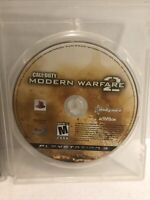 Call of Duty: Modern Warfare 2 (PlayStation 3, 2009) Disk Only No Manual Case