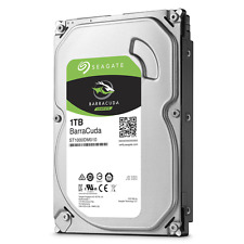 "HDD Disque Dur 3,5 "" 1000GB 1TB Seagate SATA 3 ST1000DM010 Barracuda"