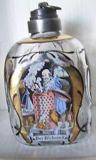 """Dekorative Flasche aus einer Apotheke Glas mit Bild """"Der Alchimist"""""""