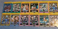 12 Kelloggs Olympic Champions Collector Cards 1991