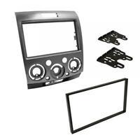 Double DIN Car CD Radio Plate Stereo Facia Fascia Adaptor Panel for Ford / Mazda