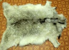 Art floor decor goatskin rug natural skin carpet Dog bed 93*64cm